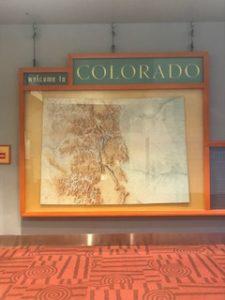 コロラド州の看板