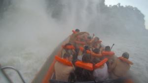 ブラジル側ボートツアー