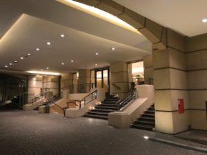 ブエノスアイレスのホテルのエントランス