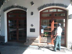 イグアスの滝の公園入口