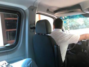 イグアス国立公園の入場ゲート