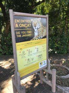 ジャガー注意!