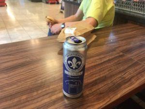 ドイツのビールをスーパーで飲む