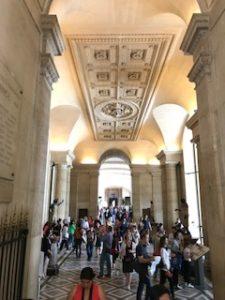 ルーブル美術館の天井