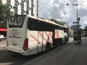 パリの空港直通バス