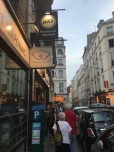 パリの日本人街