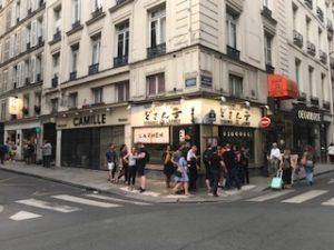 パリのラーメン屋