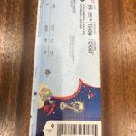 ワールドカップ観戦チケット表
