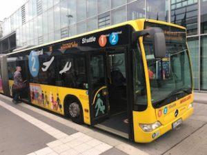 フランクフルト空港ターミナル循環バス