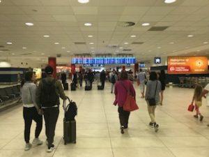 プラハ空港のバゲッジクレーム