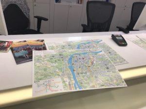 プラハのマップ