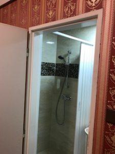 プラハのホテル室内