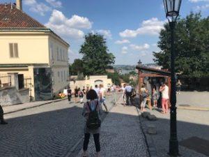 プラハ城のセキュリティ