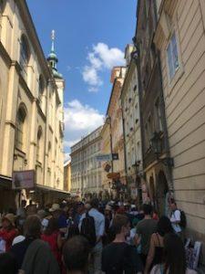 プラハの市街地