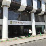 横浜中華街のローズホテル