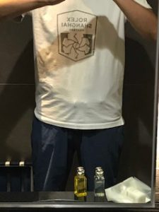 上海ロレックスマスターのTシャツ