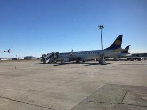 ルフトハンザシティラインの機体