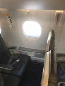 ルフトハンザシティラインの機内写真