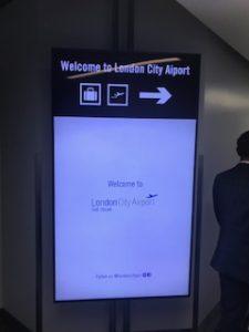 ロンドンシティ空港にようこそ!
