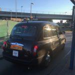 ロンドンのタクシー