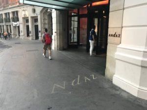 ロンドンのアンダースホテル