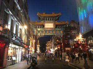 ロンドンの中華街