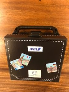 ANAのスーツケースのデザイン