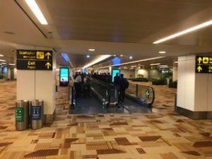 インド(デリー)の空港に到着