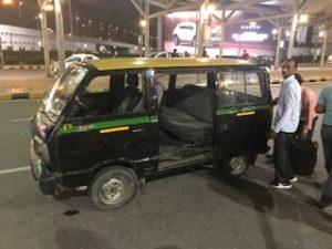 インドのプリペイドタクシー