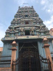 インドの古い塔