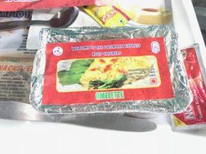 インドのオムレツ