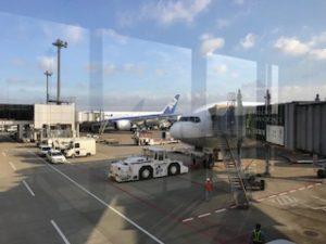 成田空港のANA機体
