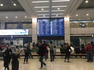 仁川空港出口