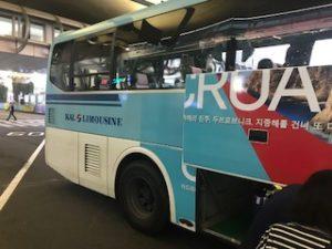 KALのサインがあるバス
