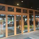 グランドハイアットソウルの正面玄関