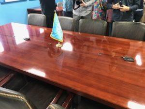 北朝鮮と韓国の国境テーブル