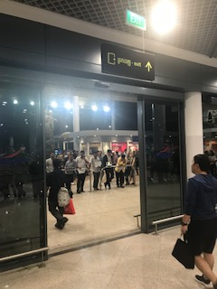 プノンペンの空港